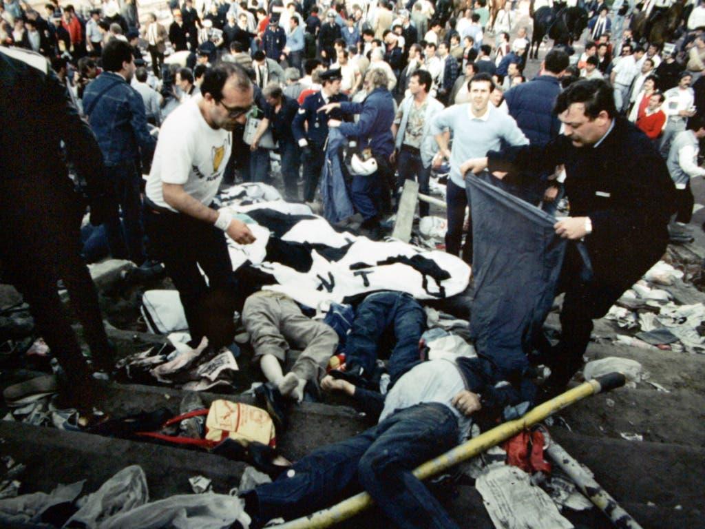 Die Mehrheit der Todesopfer waren Fans von Juventus Turin