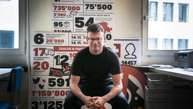 «Das Projekt ist ein Scherbenhaufen»: Daniel Graf, Gründer von Wecollect. (Keystone)