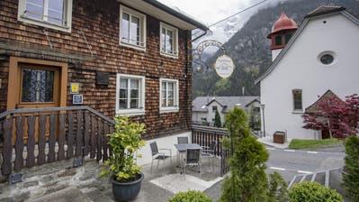 Das Gourmet-Restaurant «Im Feld» (Bild: Urs Flüeler / Keystone)