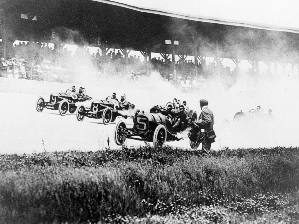 Schon bei der Premiere von «Indy 500» am 30. Mai 1911 wurde jede Menge Spektakel geboten