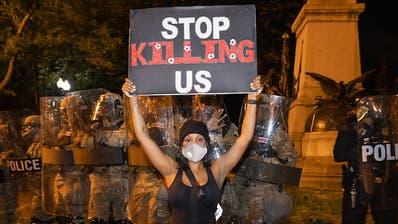 Ausschreitungen in US-Grossstädten nach Mord an George Floyd dauern an