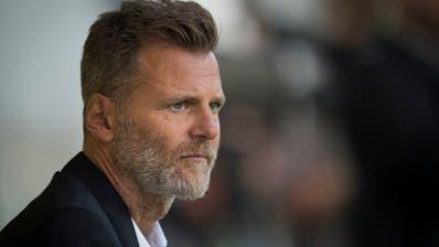 Er scheute sich noch nie, zu seiner Meinung zu stehen: Alain Sutter, Sportchef des FC St.Gallen. (Bild: Benjamin Manser)