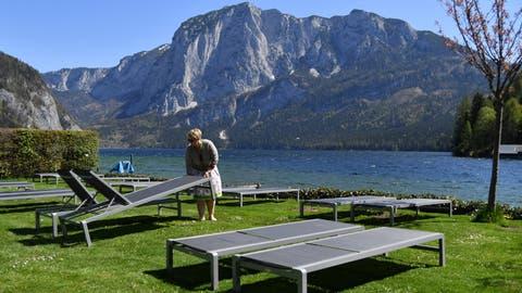 Die grosse Leere: Der Tourismus ist auch in Österreich vom Virus betroffen. (Barbara Gindl / APA/APA)