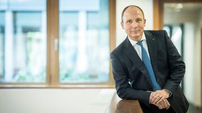 TKB-Chef Thomas Koller: «Wir leisten einen direkten Beitrag zur Ankurbelung des Umsatzes des Gewerbes.» (Bild: Reto Martin)