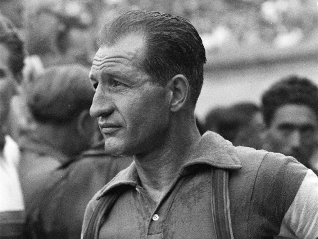 Gino Bartali war der Liebling der Tifosi - hier auf einem Bild aus dem Jahr 1953