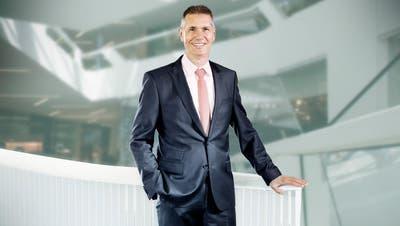 Der neue CEO von Landis+Gyr, Werner Lieberherr (60). (PD)