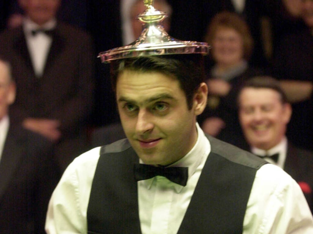"""Vor 19 Jahren setzte sich Ronnie O'Sullivan die Snooker-""""Krone» ein erstes Mal auf"""