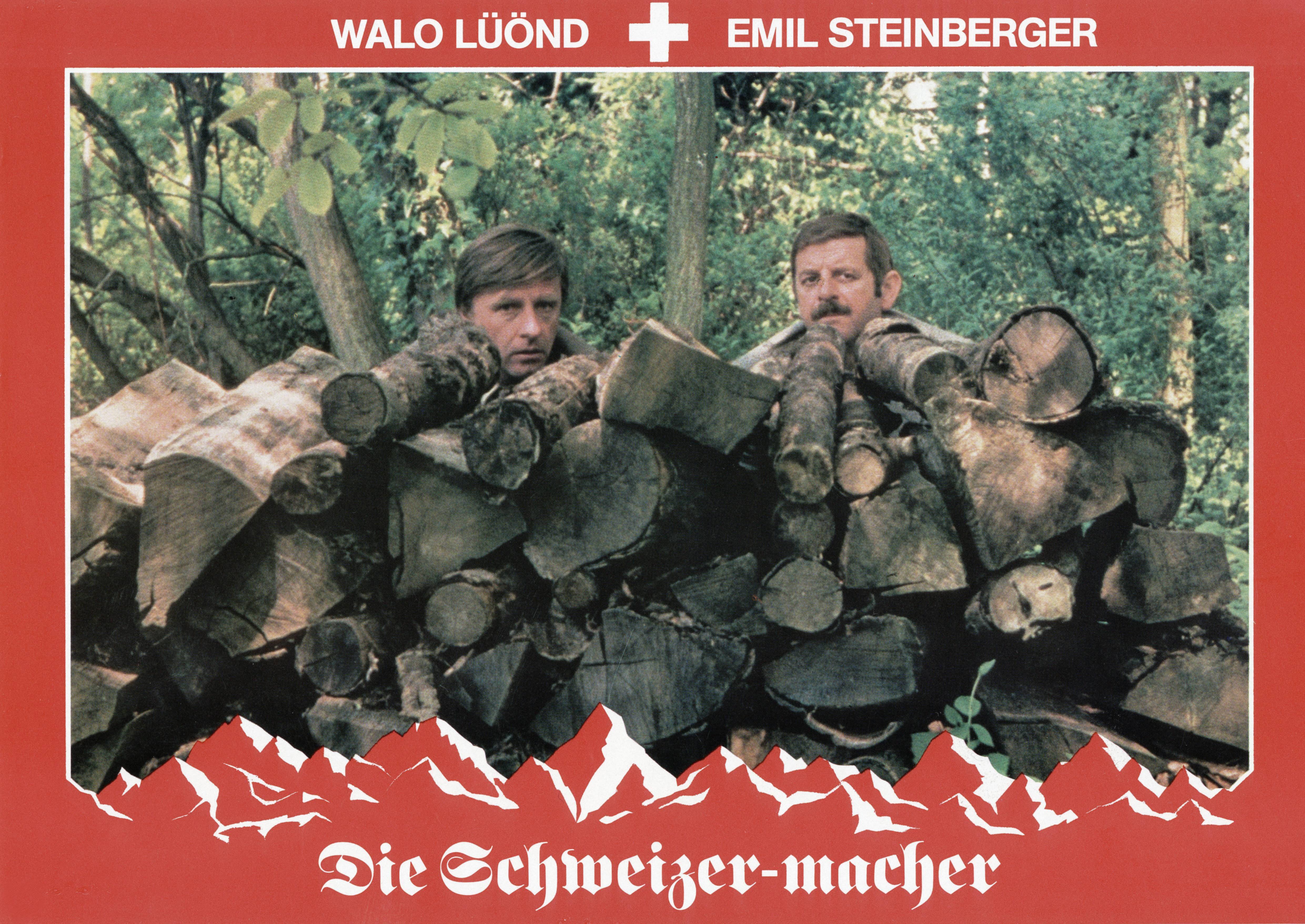 Emil Steinberger (links) als Einbürgerungsbeamter an der Seite von Walo Lüönd im Kultfilm «Die Schweizermacher» (1978) von Rolf Lyssy.