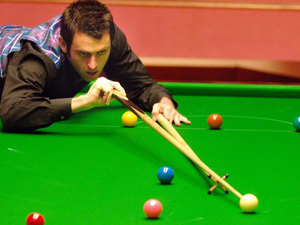 Ronnie O'Sullivan kann mit beiden Händen spielen - das hat ihm zu Beginn der Karriere auch Kritik eingebracht