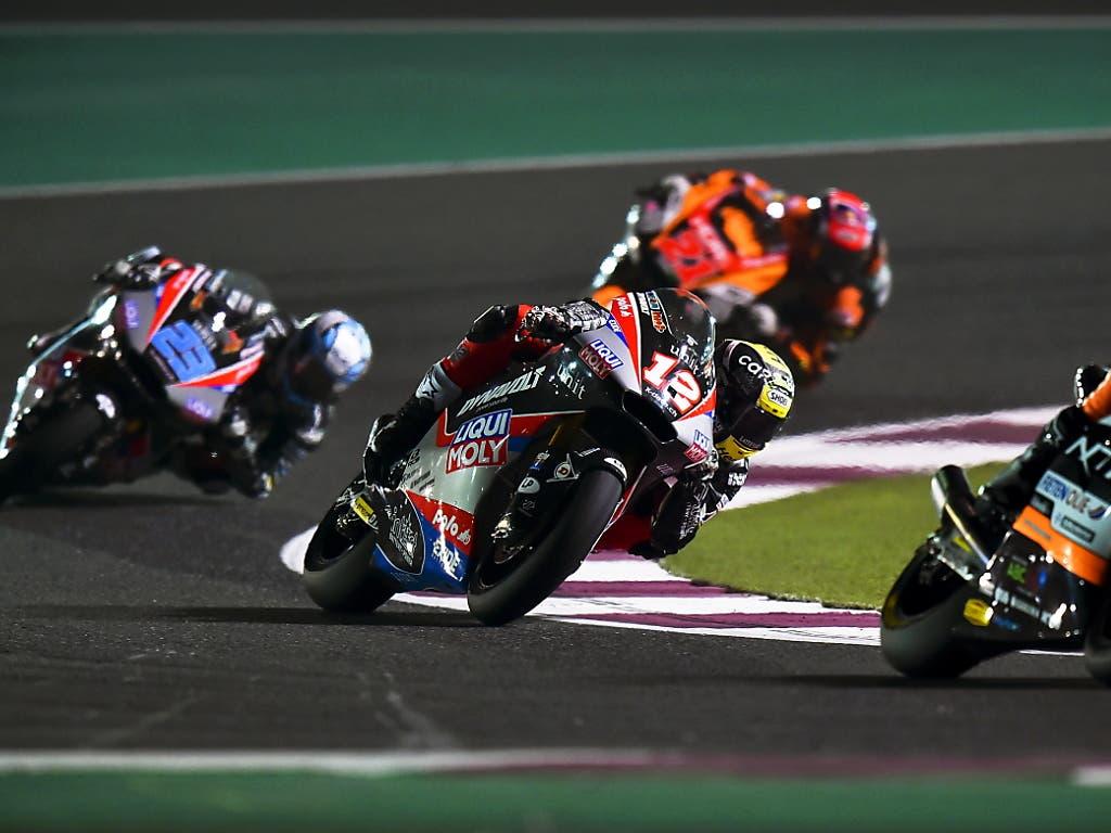 Beim Saisonauftakt in Katar belegte Tom Lüthi nur den enttäuschenden 10. Platz