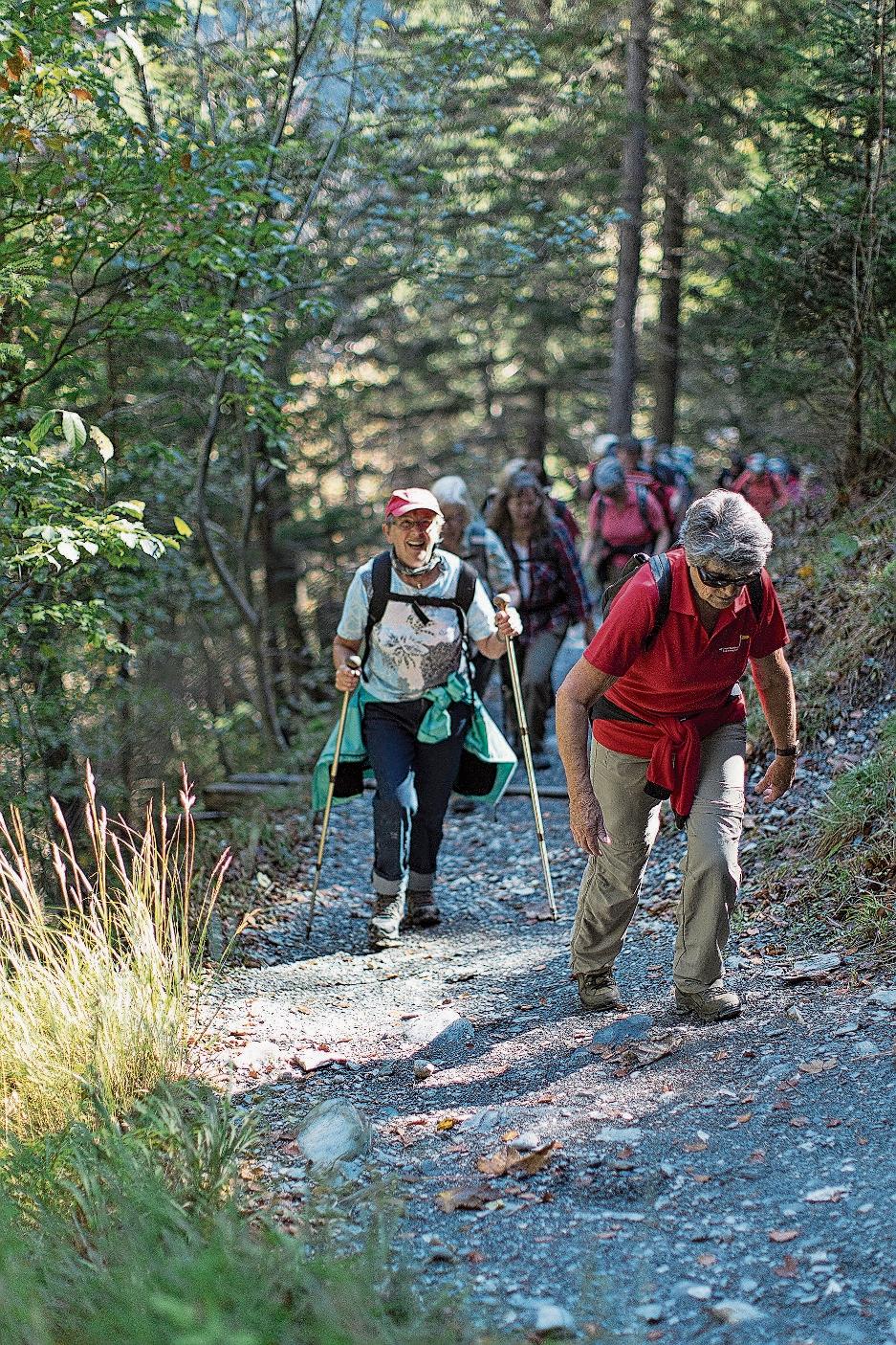 Seniorinnen und Senioren: «Die Ferien mit den Grosskindern müssen noch etwas warten. Ich rate für dieses Jahr zu Wanderferien in einem der vielen Nationalparks. Am besten mit Freunden oder einer Gruppe. Beim gemeinsam Wandern kann man die Schutzregeln problemlos einhalten und hat dennoch gleichzeitig Gemeinschaft.»