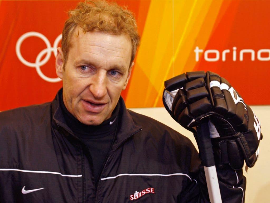 Einer der grössten Erfolge seiner Amtszeit: An den Olympischen Spielen 2006 gewannen die Schweizer gegen Kanada