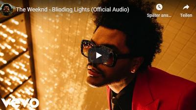 «The Weeknd– Blinding Lights» ist der beliebteste Song der Zentralschweiz
