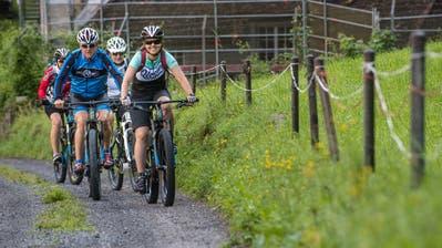 E-Bikes und E-Mountainbikes erfreuen sich einer wachsenden Beliebtheit. (Symbolbild: Boris Bürgisser)