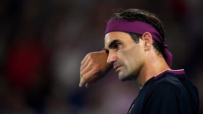 Roger Federer beendet die Saison vorzeitig. (Bild: Lukas Coch/EPA)