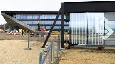 Blick auf das neue Stade de la Tuilière in Lausanne. (Bild: Laurent Gillieron/Keystone (20. Februar 2020))