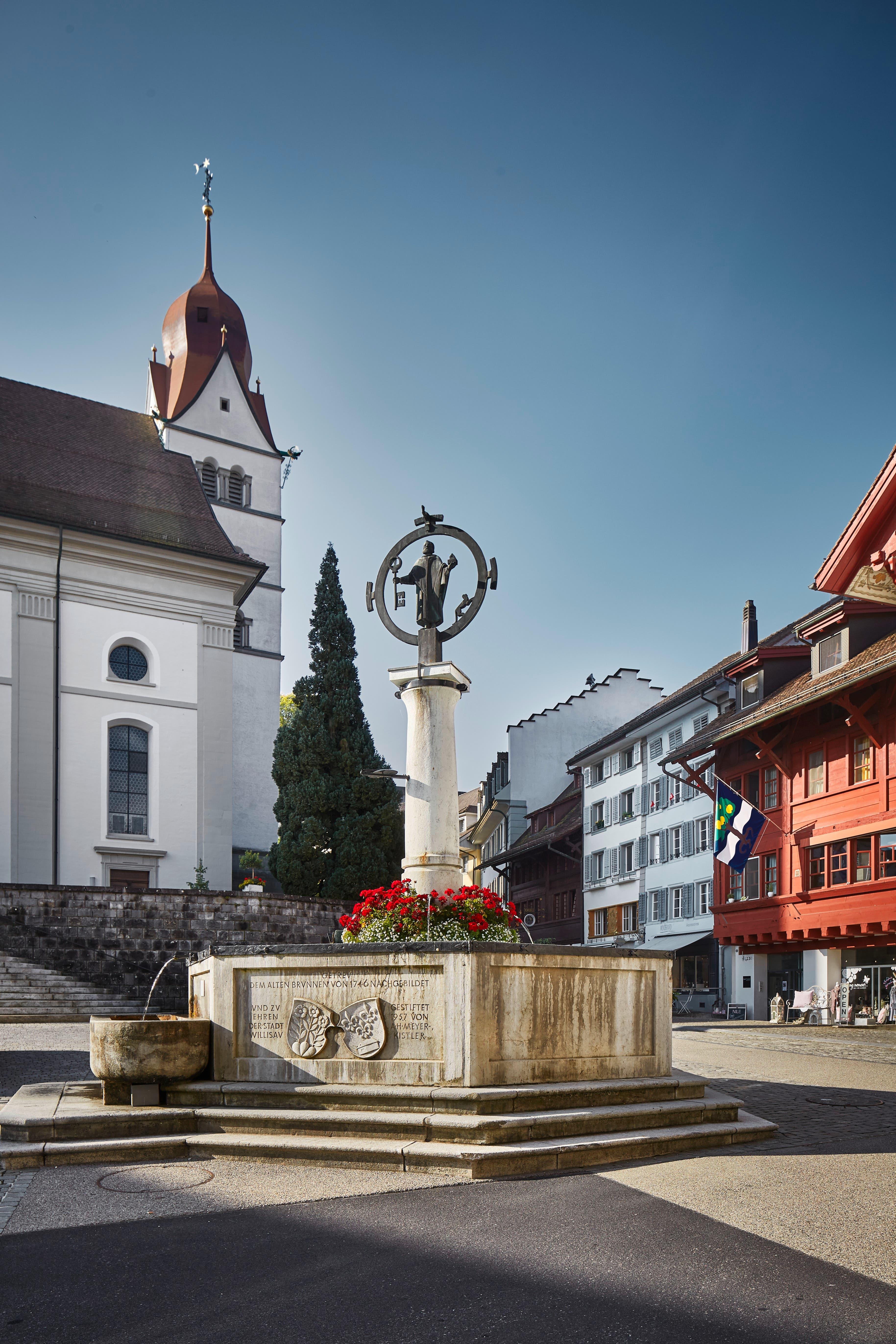 Einer der legendären Brunnen in der Altstadt