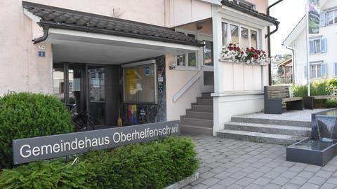 Das Gemeindehaus in Oberhelfenschwil war in der Nacht von Mittwoch auf Donnerstag dasZielvon Einbrechern. (Bild: Urs M. Hemm)