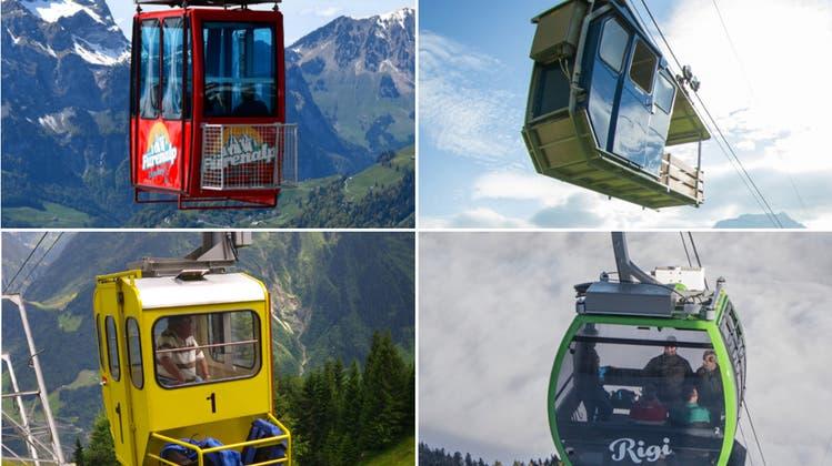 LZ-Quiz #12: Es wird schwieriger – erkennen Sie diese 25 Zentralschweizer Gondeli?