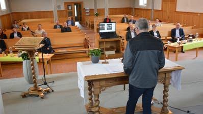 Die Wahl- und Abstimmungsresultate der Kirchgemeinde werden live per Stream verkündet (Bild: Monika Wick (Bussnang, 14. Juni 2020))