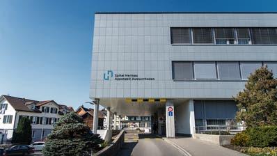 Das Spital Herisau wurdezum «Covid-19-Spital» bestimmt. (Bild: Michel Canonica (Herisau, 18. März 2020))