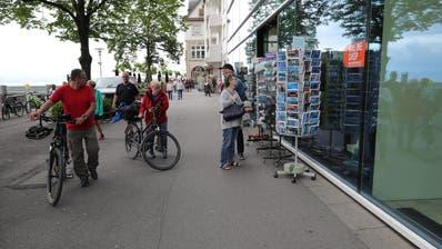 «Restart15.Juni»: Die Fähre Romanshorn startbereit im Hafen von Romanshorn. (Christoph Zweili)