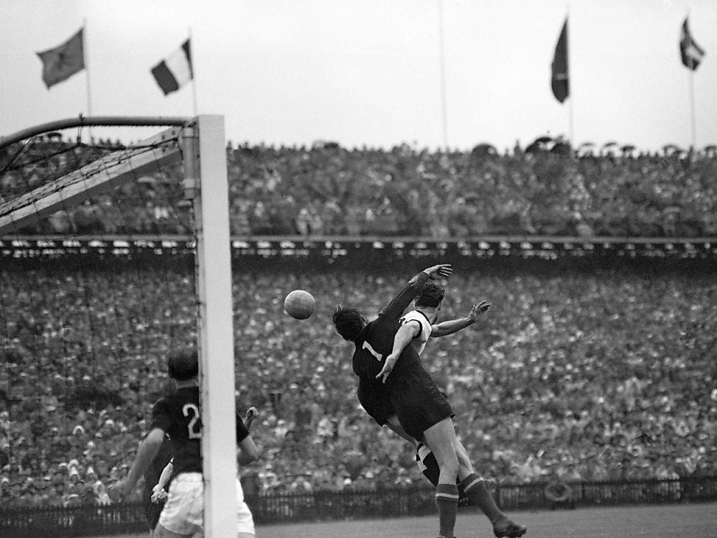 Im WM-Final zwischen Deutschland und Ungarn (3:2) war das Wankdorf mehr als nur voll