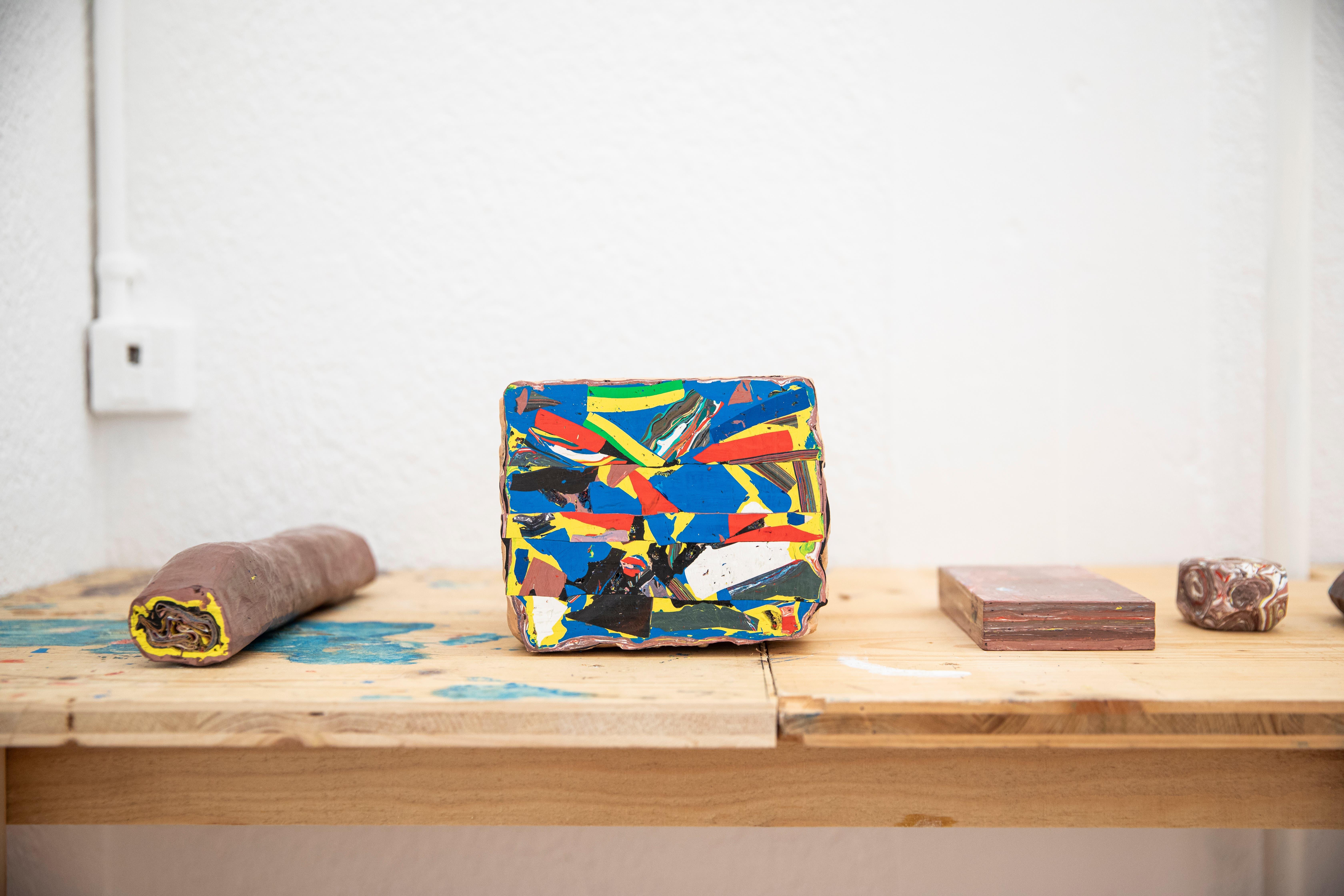 Exponate der Ausstellung von Stefan Gritsch.