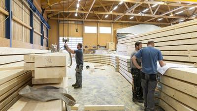 Kleine und mittlere Unternehmen prägen die Holzbranche. (Bild: PD)