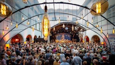 Die Deutschpop-Gruppe Panda Lux aus Rorschach ist eine der Ostschweizer Bands, die am diesjährigen Kulturfestival St.Gallen auftreten. (Bild: Anja Furrer)