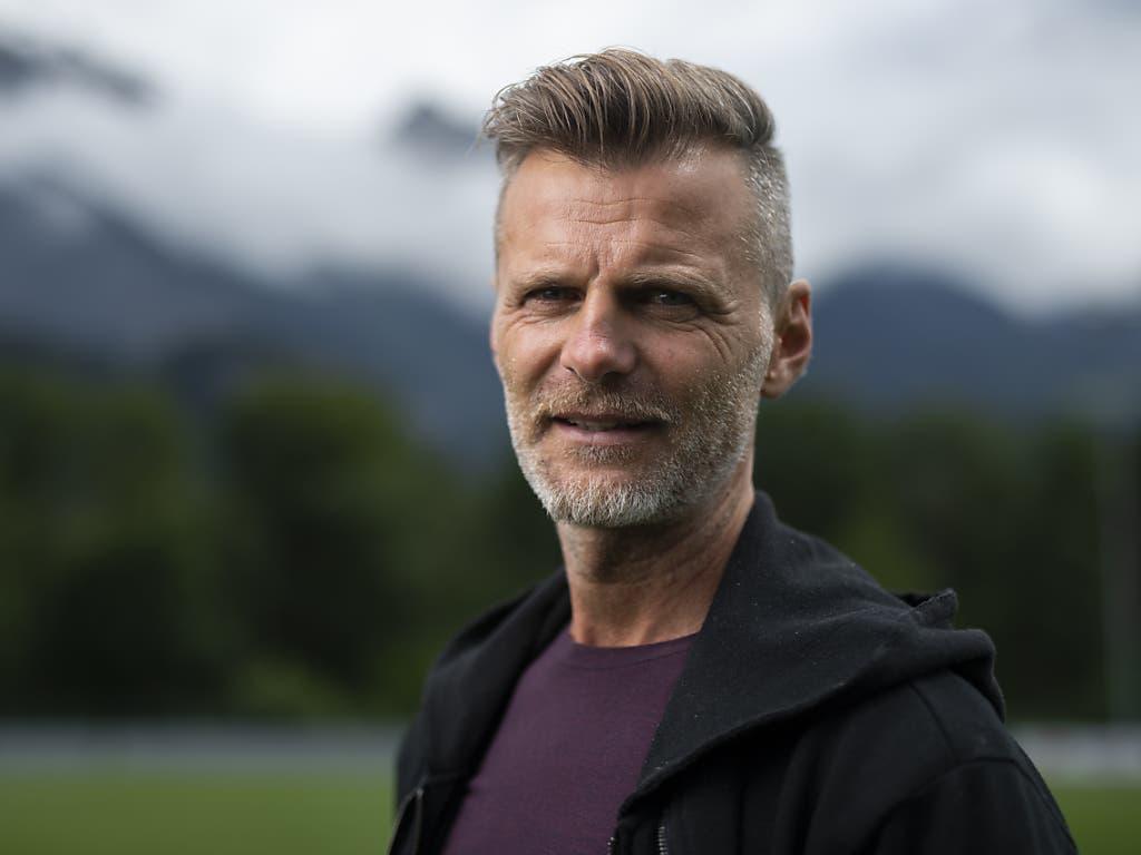 Alain Sutter ist heute Sportchef beim FC St. Gallen