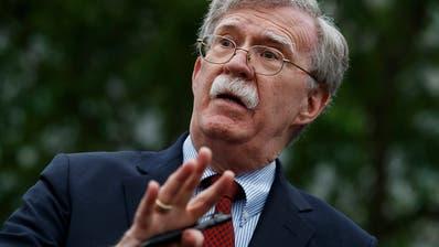 Boltons Buch: Ex-Sicherheitsberater rechnet mit Trump ab