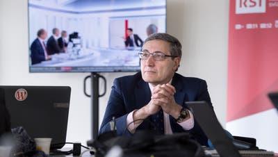 Maurizio Canetta verabschiedet sich schrittweise in den Ruhestand. (Bild: Keystone)