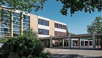 Schulanlage Herti in Zug: Provisorien sollen dem Neubau weichen