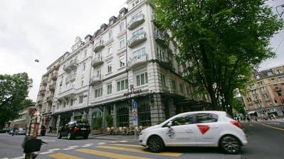 Das Hotel Renaissance in Luzern bei der Wiedereröffnung vor neun Jahren. (Philipp Schmidli (31. Mai 2011))