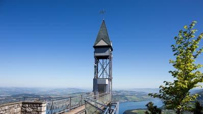Der Hammetschwand-Lift am Bürgenstock. (Bild: PD)
