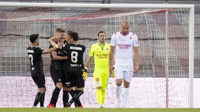 Jetzt im Ticker: Der FC St.Gallen gewinnt gegen Sion mit 1:2 – Itten schiesst beide St.Galler Tore