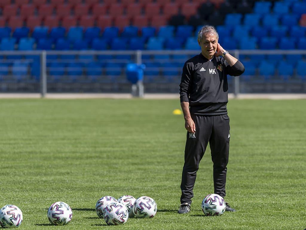 «Mein Fokus liegt auf dem Spielfeld»: FCB-Trainer Marcel Koller blendet die Turbulenzen im Klub bislang gekonnt aus