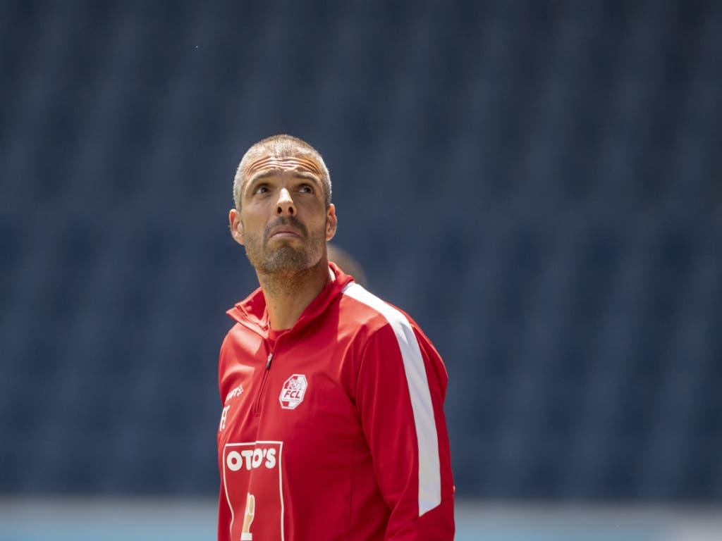 Gehts noch höher? Fabio Celestini ist als Trainer des FC Luzern noch ungeschlagen