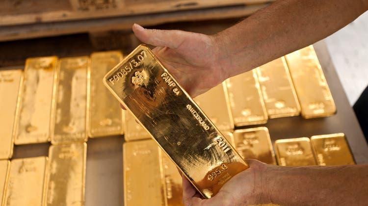 Im Jahr 2018 prüfte die Eidgenössische Zollverwaltung rund 2300 Tonnen importiertes Gold. (Keystone)