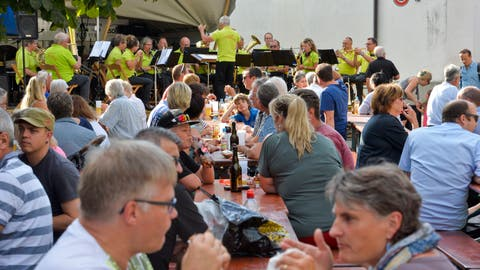 Eine Impression vom Sommernachtsfest Steckborner 2019. ((Bild: Donato Caspari))