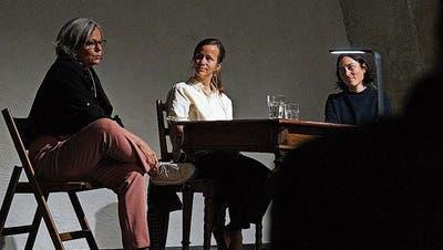 «Man kann so oder so glücklich werden, muss aber nicht»: Wortkunst in Warth im Kunstmuseum in der Kartause Ittingen