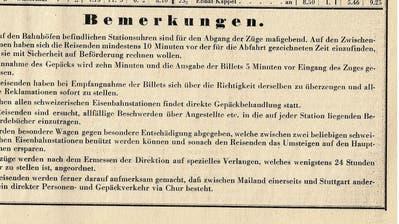 Damals: Erste Bahn dampfte durchs Toggenburg