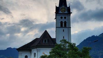 Die Kirche von Alpnach. (Bild: Markus von Rotz(Alpnach, 7. Juni 2018))