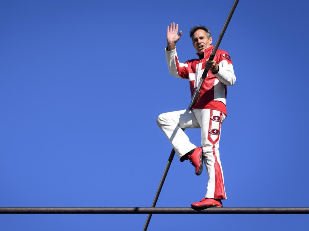 Freddy Nock stellte gleich drei neue Weltrekorde auf.