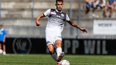 Eris Abedini wird die Schlussphase der Saison nochbeim FC Wil absolvieren. (Pascal Muller/Freshfocus)