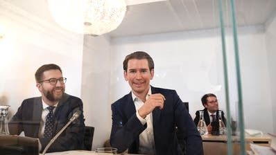 Bundeskanzler Sebastian Kurz (ÖVP) am Mittwoch, 24. Juni 2020, im Rahmen des Ibiza-U-Ausschusses im Parlamentsausweichquartier in der Hofburg in Wien. (Helmut Fohringer / APA/APA)