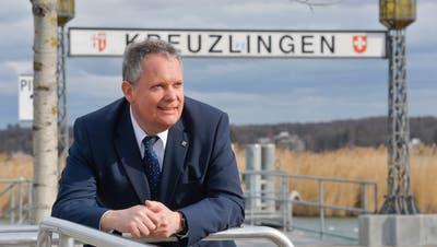 Stadtpräsident Thomas Niederberger sieht dunkle Wolken aufziehen, für die städtischen Finanzen. ((Bild: Donato Caspari 4.3.2019))