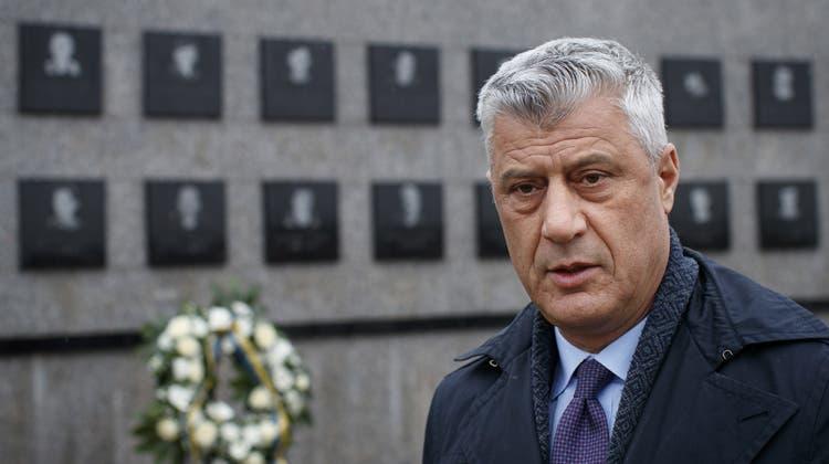 Kosovo-Sondergericht klagt Staatspräsident Hashim Thaci wegen Kriegsverbrechen an