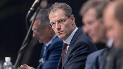 Finanzdirektor Reto Wyss informiert über die Auswirkungen der Coronakrise auf die Kantonsfinanzen. (Bild: Pius Amrein (Luzern, 23. Juni 2020))